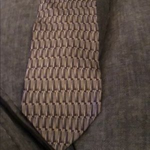 Milano Uomo Brown Geometric Tie